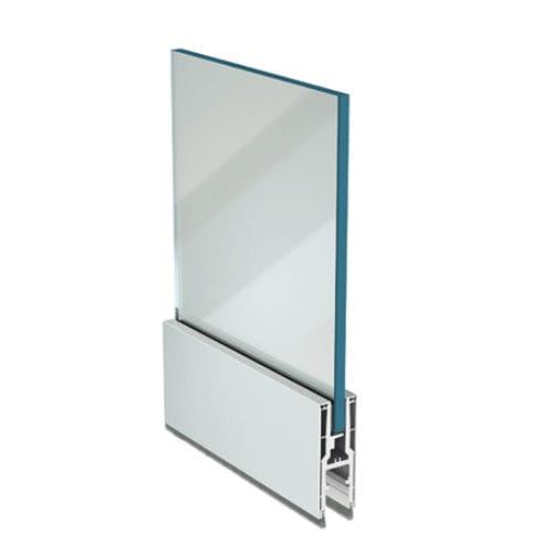 système de fixation aluminium / pour panneaux