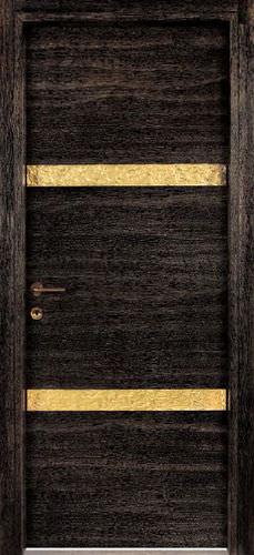 porte d'intérieure / battante / en bois massif