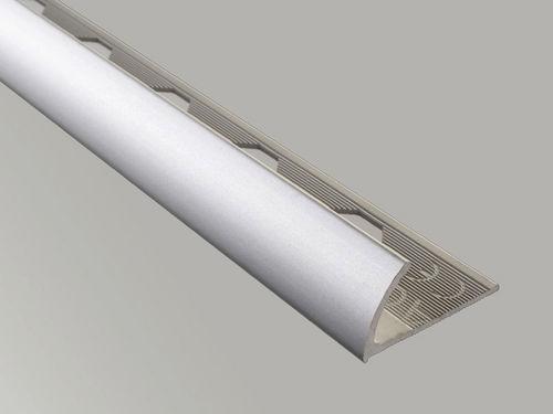 profilé de finition en aluminium / pour carrelage / pour angle extérieur