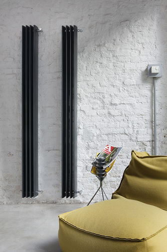 radiateur électrique / en aluminium / contemporain / mural