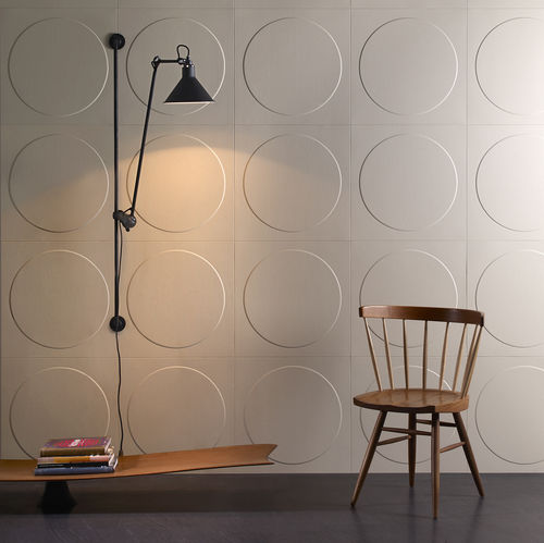 carrelage d'intérieur / mural / en cuir / 3D