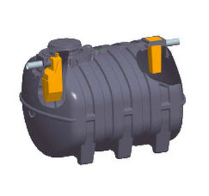 décanteur pour eaux usées