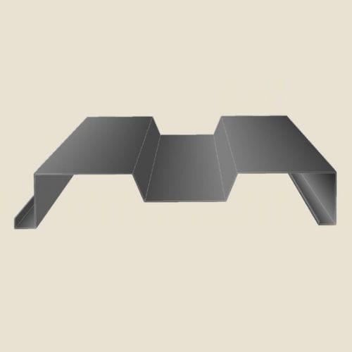tôle ondulée / pour bardage / pour clôture / à joint debout
