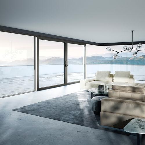baie vitrée coulissante - heroal