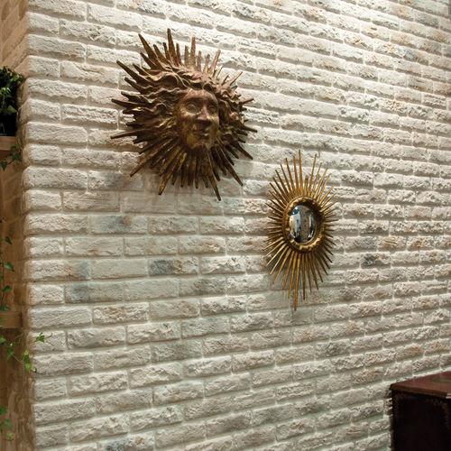 revêtement mural en béton / résidentiel / à relief / aspect brique