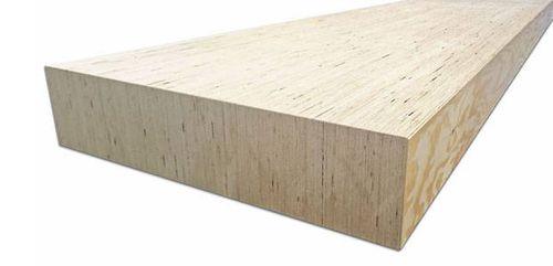 poutre porteure / en lamibois / de section rectangulaire / pour plafond
