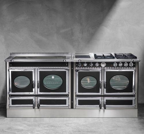 cuisinière à gaz / électrique / mixte / à bois