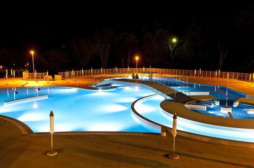 luminaire encastré / à LED / rond / de piscine