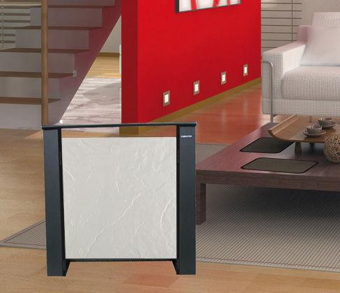 radiateur électrique / en ardoise / contemporain / mobile