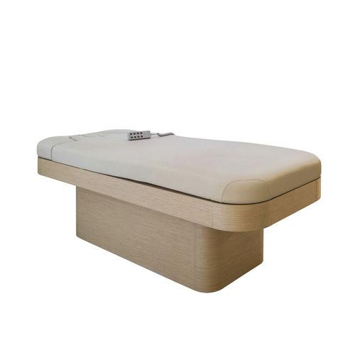 table de massage électrique / en bois