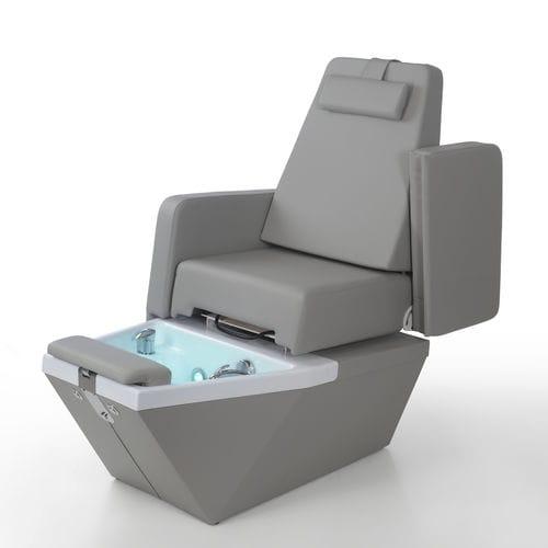fauteuil de pédicure en simili cuir / réglable