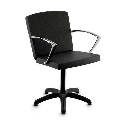 fauteuil de coiffure en simili cuir