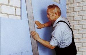 isolant thermo-acoustique / en polystyrène extrudé / pour mur / en panneaux