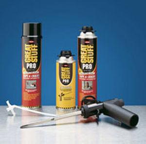 isolant thermo-acoustique / en mousse de polyuréthane / pour fenêtre / pour conduit