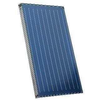 capteur solaire thermique plan / pour chauffer l'eau / isolant