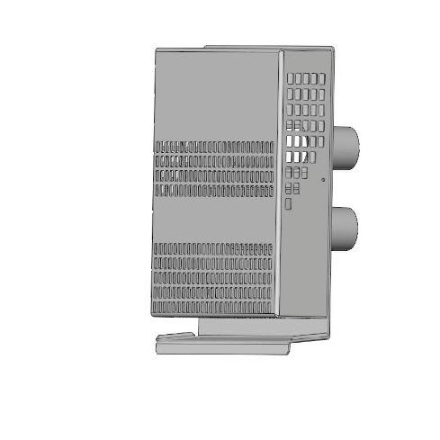 grille de ventilation en inox / rectangulaire / pour façade
