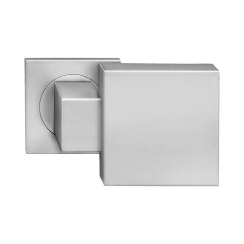 bouton de porte contemporain / en acier inoxydable