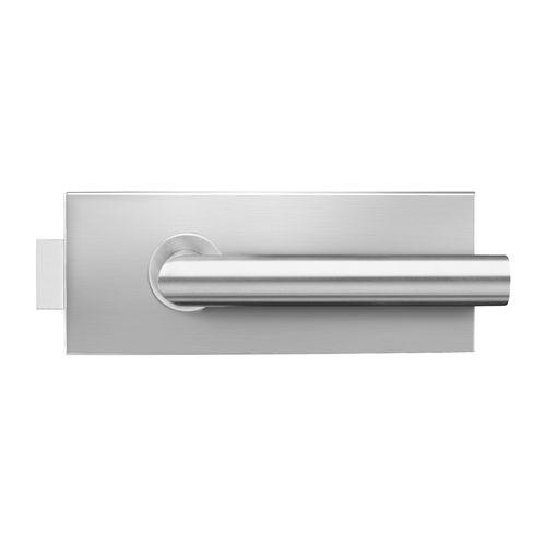 serrure mécanique / pour porte en verre