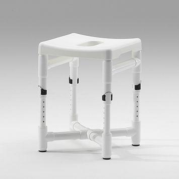 tabouret de douche en plastique / pour établissement médicalisé / pour personnes à mobilité réduite