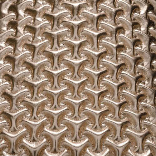 tissu d'ameublement / à motif géométrique / uni / en polyester