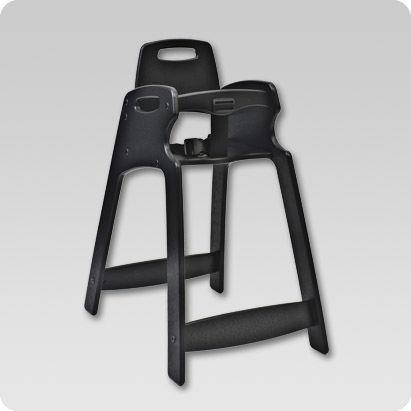 chaise haute empilable