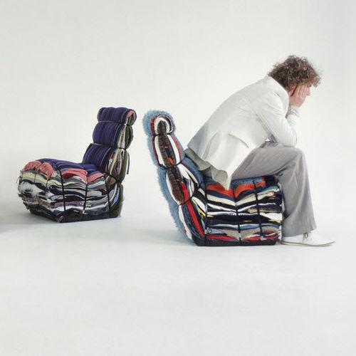 chaise contemporaine / en métal