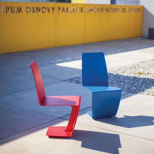 chaise contemporaine - mmcité street furniture