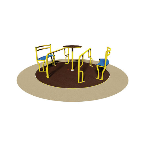 jeu tournant pour personnes à mobilité réduite / pour aire de jeux