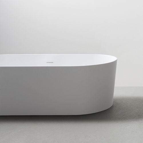 baignoire à poser / ovale / en acrylique