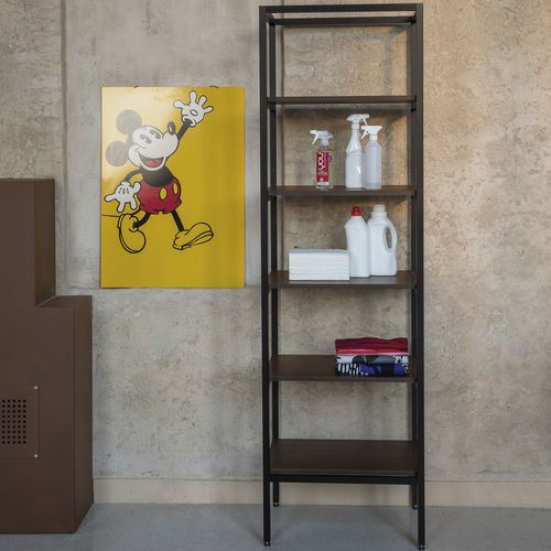 étagère contemporaine / en aluminium