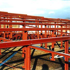 charpente métallique de toiture
