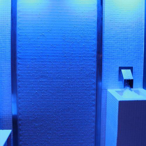 fontaine à glace pour centre de spa