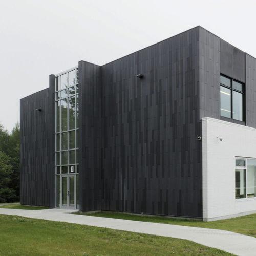 panneau de revêtement / en béton fibré / en fibre de verre / pour façade