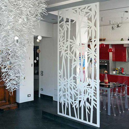 claustra en aluminium / en acier COR-TEN® / de jardin / de terrasse