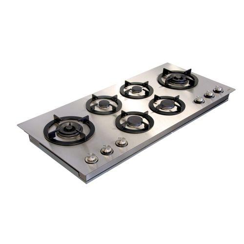 table de cuisson à gaz / wok / 6 foyers
