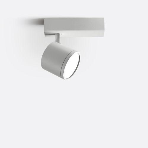 spot de plafond / à LED / rond / en métal chromé