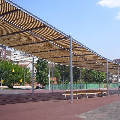 pergola autoportée - URBADIS by Microarquitectura