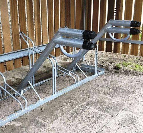 station de recharge pour vélos électriques