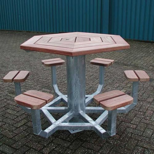 table de pique-nique contemporaine
