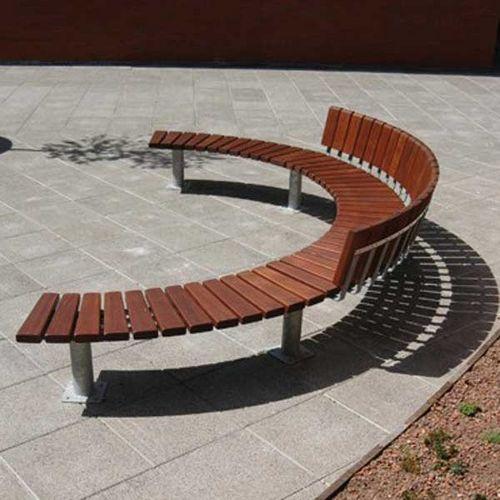 banc public contemporain