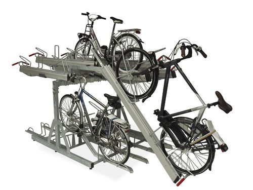 range-vélo en acier
