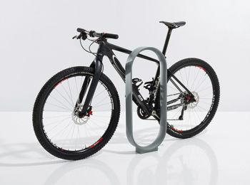 range-vélo en fonte d'aluminium