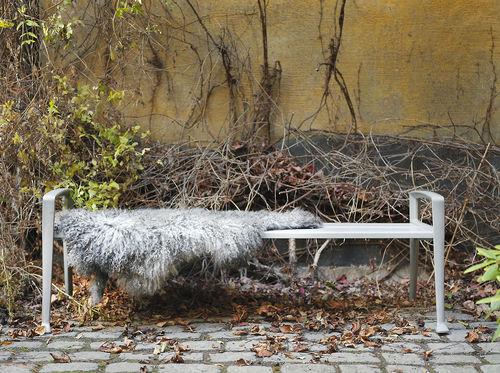 banc public / design scandinave / en bois