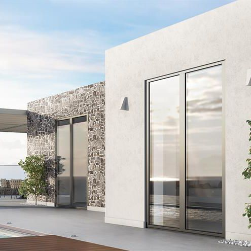 profilé pour fenêtre en aluminium - ALUMIL S.A.