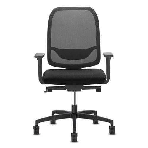 fauteuil de bureau contemporain / en maille / en polyester / à roulettes