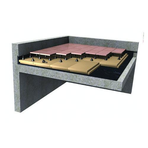 isolant thermique / en polystyrène extrudé / pour murs enterrés / pour plancher chauffant