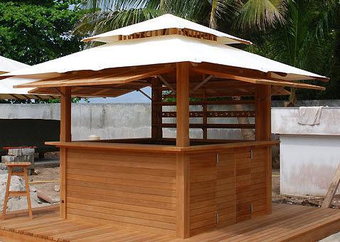 bar de jardin professionnel