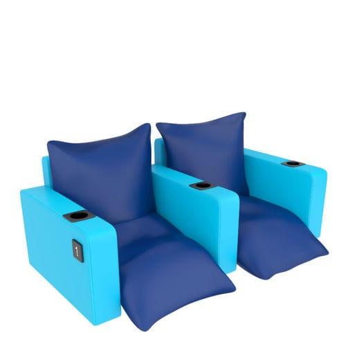 fauteuil de cinéma en mousse de polyuréthane