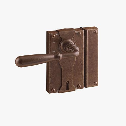 serrure mécanique / de porte / avec poignée