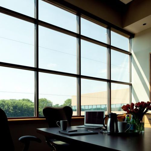panneau en verre feuilleté / pour façade / pour fenêtre / plat